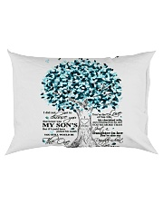 TO MY DAUGHTER IN LAW Rectangular Pillowcase back