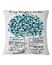 TO MY DAUGHTER IN LAW Square Pillowcase back