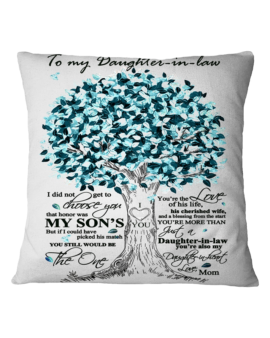 TO MY DAUGHTER IN LAW Square Pillowcase
