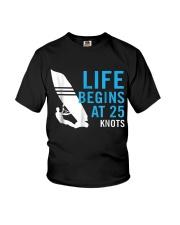 Mens WIndsurf - WIndsurfing - surfing Youth T-Shirt thumbnail