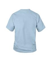 I Sweat Glitter - Unicorn Workout Exercise Youth T-Shirt back