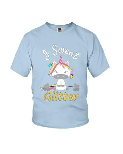 I Sweat Glitter - Unicorn Workout Exercise