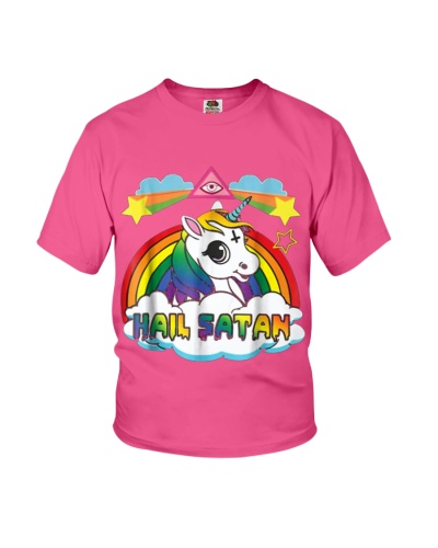 Unicorn Hail Satan Death Metal Rainbow