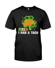 IRISH I HAD A TACO Classic T-Shirt thumbnail