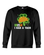 IRISH I HAD A TACO Crewneck Sweatshirt thumbnail