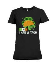 IRISH I HAD A TACO Premium Fit Ladies Tee thumbnail
