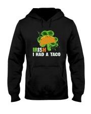IRISH I HAD A TACO Hooded Sweatshirt thumbnail