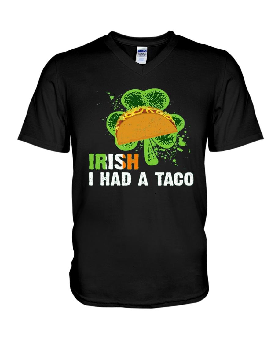 IRISH I HAD A TACO V-Neck T-Shirt