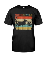 Retro Vintage Daddy Motorcycle T-Shirt Bike - Bike Classic T-Shirt thumbnail
