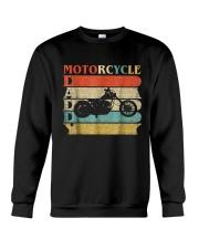 Retro Vintage Daddy Motorcycle T-Shirt Bike - Bike Crewneck Sweatshirt thumbnail