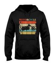 Retro Vintage Daddy Motorcycle T-Shirt Bike - Bike Hooded Sweatshirt thumbnail