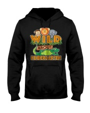 Wild About Kindergarten Back to School Classroom Hooded Sweatshirt thumbnail
