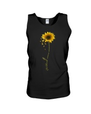 Childhood Cancer Awareness Sunflower Unisex Tank thumbnail