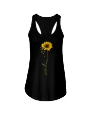 Childhood Cancer Awareness Sunflower Ladies Flowy Tank thumbnail