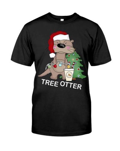Tree Otter Christmas Santa