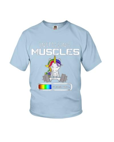 Installing Muscles - Unicorn Loading