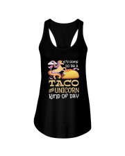 TACO AND UNICORN KIND OF DAY Ladies Flowy Tank thumbnail
