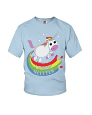 I Poop Glitter - Unicorn Youth T-Shirt front