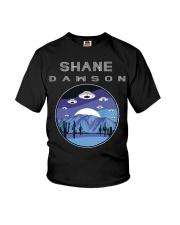 Shane Dawson Area 51 UFO Armada Youth T-Shirt front