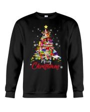 MERRY CHRISTMAS TO BOOK LOVERS Crewneck Sweatshirt thumbnail