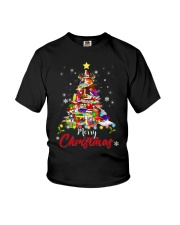MERRY CHRISTMAS TO BOOK LOVERS Youth T-Shirt thumbnail