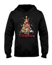 MERRY CHRISTMAS TO BOOK LOVERS Hooded Sweatshirt thumbnail
