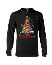 MERRY CHRISTMAS TO BOOK LOVERS Long Sleeve Tee thumbnail