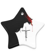 Love Jesus Star Ornament (Porcelain) tile