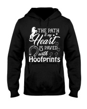 THE PATH IS PAVED WITH HOOFPRINTS Hooded Sweatshirt front