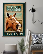 WHY HELLO SWEET CHEEKS HAVE A SEAT 24x36 Poster lifestyle-poster-1