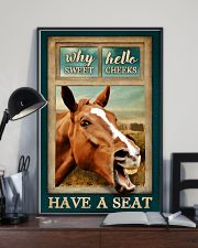 WHY HELLO SWEET CHEEKS HAVE A SEAT 24x36 Poster lifestyle-poster-2
