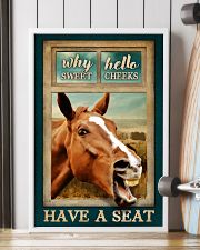 WHY HELLO SWEET CHEEKS HAVE A SEAT 24x36 Poster lifestyle-poster-4