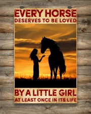 HORSE DESERVES TO BE LOVED BY A LITTLE GIRL 24x36 Poster aos-poster-portrait-24x36-lifestyle-14