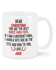 HORSE MOM YOU ARE THE BEST PERSONALISED GIFT Mug front