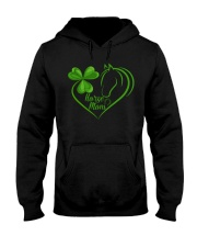 HORSE MOM ST PATRICK DAY Hooded Sweatshirt front