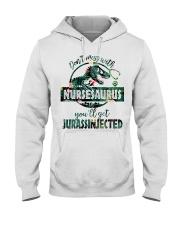 FUNNY NURSE SHIRT Hooded Sweatshirt thumbnail