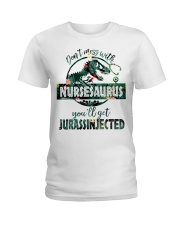 FUNNY NURSE SHIRT Ladies T-Shirt front