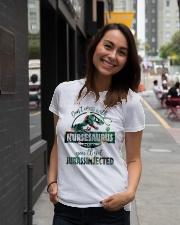 FUNNY NURSE SHIRT Ladies T-Shirt lifestyle-women-crewneck-front-5