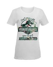 FUNNY NURSE SHIRT Ladies T-Shirt women-premium-crewneck-shirt-front