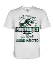 FUNNY NURSE SHIRT V-Neck T-Shirt thumbnail