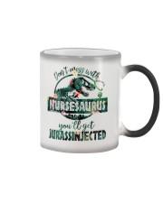 FUNNY NURSE SHIRT Color Changing Mug thumbnail