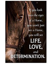 LIFE LOVE DETERMINATION 24x36 Poster front