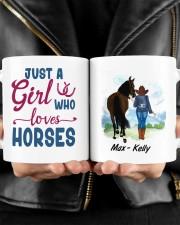 JUST A GIRL WHO LOVES HORSES Mug ceramic-mug-lifestyle-24