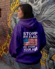I'll Stomp You Men's Shirts and Hoodies Hooded Sweatshirt lifestyle-unisex-hoodie-back-1