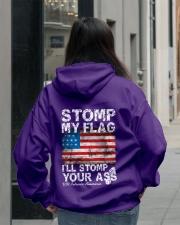 I'll Stomp You Men's Shirts and Hoodies Hooded Sweatshirt lifestyle-unisex-hoodie-back-2