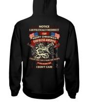 I Am Politically Incorrect I Say Merry Christmas Hooded Sweatshirt thumbnail