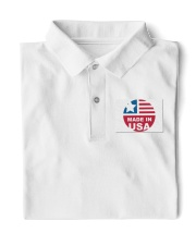 usa t shirt Classic Polo front