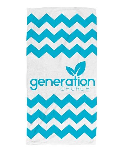 Generation Church Beach Baptism Towel
