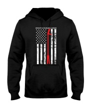 Red Thin Line - Halligan Bar Hooded Sweatshirt thumbnail