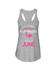 Are Born In JUNE Ladies Flowy Tank thumbnail